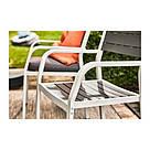 ИКЕА (IKEA) SJÄLLAND, 103.865.01, Садовое кресло, светло-серый, темно-серый - ТОП ПРОДАЖ, фото 9