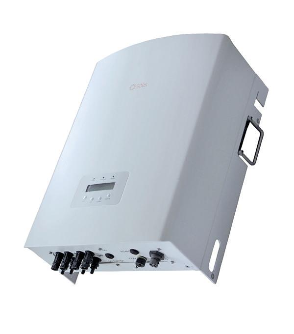 Сетевой инвертор Solis-3P10K-4G-DC (10 кВ, 3-фазный, 2 МРРТ)