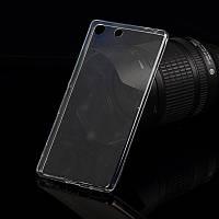 Ультратонкий 0,3 мм чехол для Sony Xperia M5 прозрачный