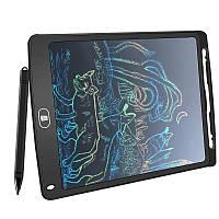 Планшет детский для творчества цветной Amzdeal Writing Tablet 8,5 дюймов Black