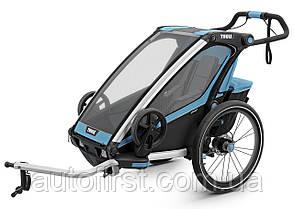 Детская коляска Thule Chariot Sport 1 (Blue-Black) (TH 10201001)