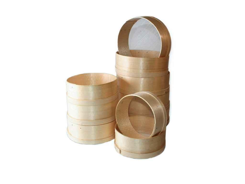 Набор сит деревянных 10 шт 200-270 мм