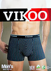 Трусы мужские боксеры VIKOO хлопок + бамбук №46 удобное бельё ТМБ-18110