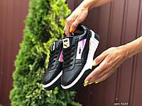Кроссовки женские Puma Cali Bold.Стильные женские кроссовки черного цвета. ТОП КАЧЕСТВО!!! Реплика