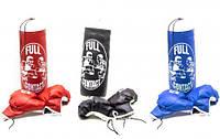 Детский боксерская груша 38*14  с перчатками  22*11 380140