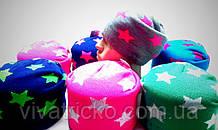 Шапка зимняя на флисе м 9163, разные цвета