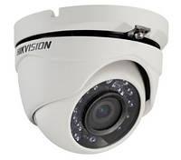 Купольная Turbo HD видеокамера Hikvision DS-2CE56D5T-IRM