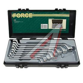 Набор ключей накидных отогн.75гр. 8пр. (5081 Force)