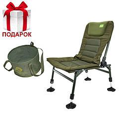 Крісло коропове Carp Pro Flat Feeder + Подарунок