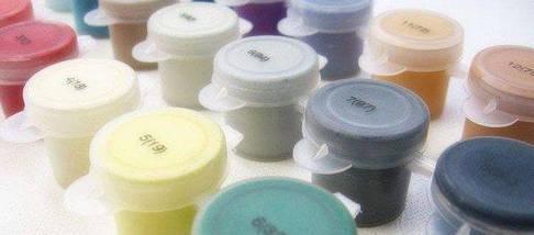 VP113 Раскраска по номерам Букет сирени на столе худ. Новицкая Инна, фото 2