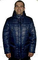 Зимняя куртка с накладными карманами