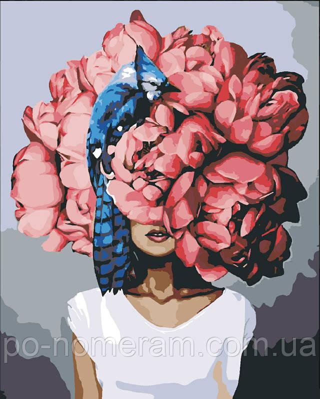 Картина по номерам Эми Джадд Пионы