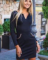 Красивое черное платье | 2108 sk