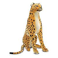 Гигантский плюшевый гепард мягкая игрушка ТМ Melissa & Doug MD2128