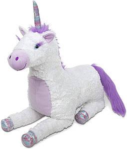 Гігантський Райдужний єдиноріг Місті м'яка іграшка ТМ Melіssa & Doug MD30405