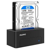 """Док-станція Maiwo HDD 2.5""""/3.5"""" SATA/USB 3.0 SSD (K308P)"""