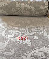 """Порт""""єрна тканина сіра висота  2.80 м. /Портьерная ткань серая высота 2.80 м., фото 1"""