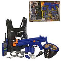 Игровой набор полицейского с бронежилетом SWAT арт. 34290, фото 1
