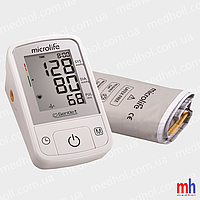 Тонометр Microlife BP A2 Basic автомат, память, датчики аритмии и движения. Швейцария