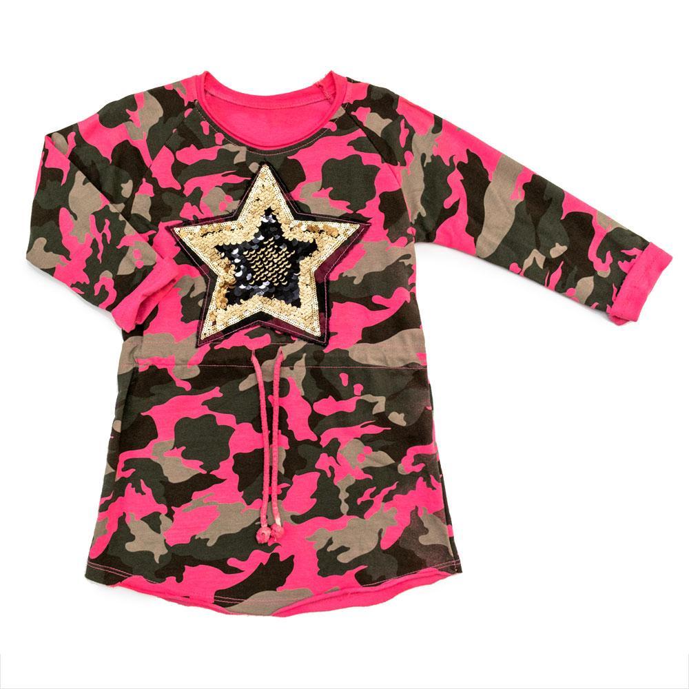 Платье для девочек Oute 122  розовое 2720