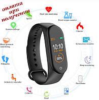 Смарт smart фитнес браслет трекер умные часы как Xiaomi Mi band М4 (M4) на русском ПОШТУЧНО (4)