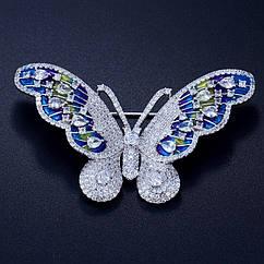 Елітна брошка - Барвиста метелик
