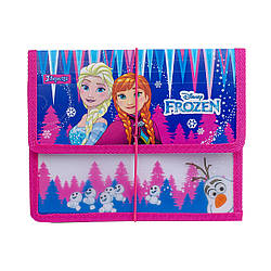 """Папка для зошитів 1Вересня пласт. на резинці В5 """"Frozen"""""""