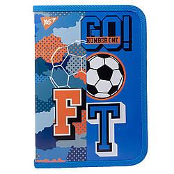 """Папка для зошитів YES пласт. на блискавці В5 """"Football"""""""