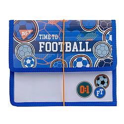 "Папка для зошитів YES пласт. на резинці В5 ""Football"""