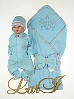 """Літній набір конверт+комбінезон """"Маленький принц"""""""