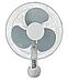 Вентилятор 2 в 1 Maestro MR-902 (3 скорости) | напольный вентилятор Маэстро | настенный вентилятор Маестро, фото 2