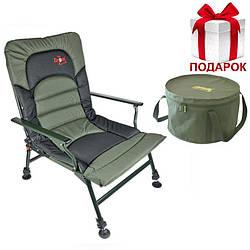 Крісло для риболовлі Full Comfort Boilie Armchair + Подарунок