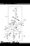 Рычаг (элемент) механизма переключения передач (тяга кулисы КПП) Lanos Ланос OE 94580711, фото 8