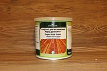 Барьерный грунт для древесины с танином, Super Wood Sealer 750 мл. Прозрачный