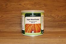 Барьерный грунт для древесины с танином, Super Wood Sealer 750 мл. Белый