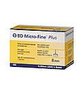 Иглы инсулиновые БД Микрофайн Плюс 8мм -BD Micro-fine Plus 30G, 100шт., фото 2