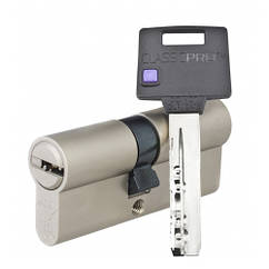 Цилиндр Mul-T-Lock Classic PRO ключ/ключ никель 81 мм