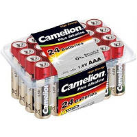 Батарейка Camelion Plus Alkaline LR03 * 24 (LR03-PB24)