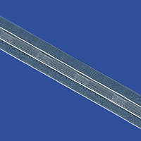 Тесьма для французских штор прозрачная 20 мм