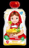"Пюре Яблоко-Банан 90г в мягкой упаковке, от 5 мес., ТМ""Алёнка любит..."""
