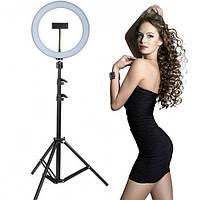 Кольцевая лампа S31 LED 33 см с держателем для телефона
