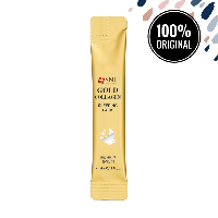 Ночная маска с золотом и коллагеном SNP Gold Collagen Sleeping Pack, 4 мл