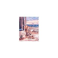 Набор для творчества Роспись по номерам Люди. Отдых в Париже 40х50см КНО4544