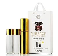 Женский мини парфюм Versace Crystal Noir, 3*15мл