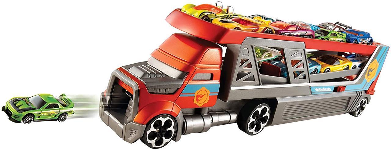 Хот вилс Перевозчик пускатель Hot Wheels City Blastin' Rig Mattel