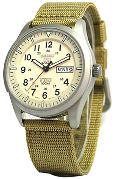 Мужские часы Seiko SNZG07K1 5 Military Automatic JAPAN