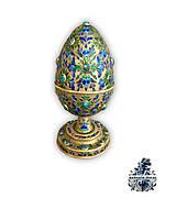 Пасхальное яйцо из серебра антикварная Серебряная ваза кубок антиквариат Украина Киев антикварная мебель