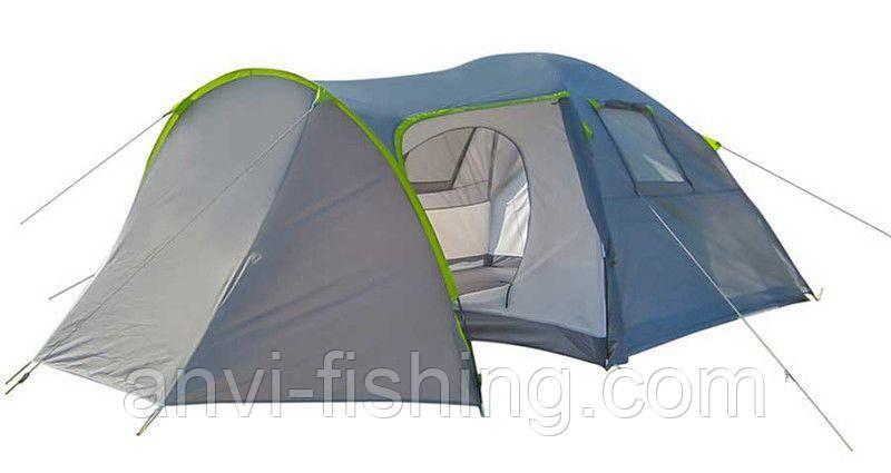 Палатка 4-х местная GreenCamp 1009-2 (2 входа)