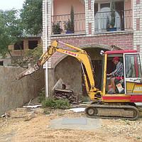 Гидромолот KB200S (отбойный молоток, демонтаж бетона)