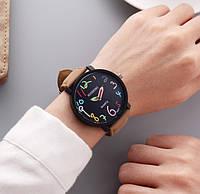Часы наручные Digit brown-black